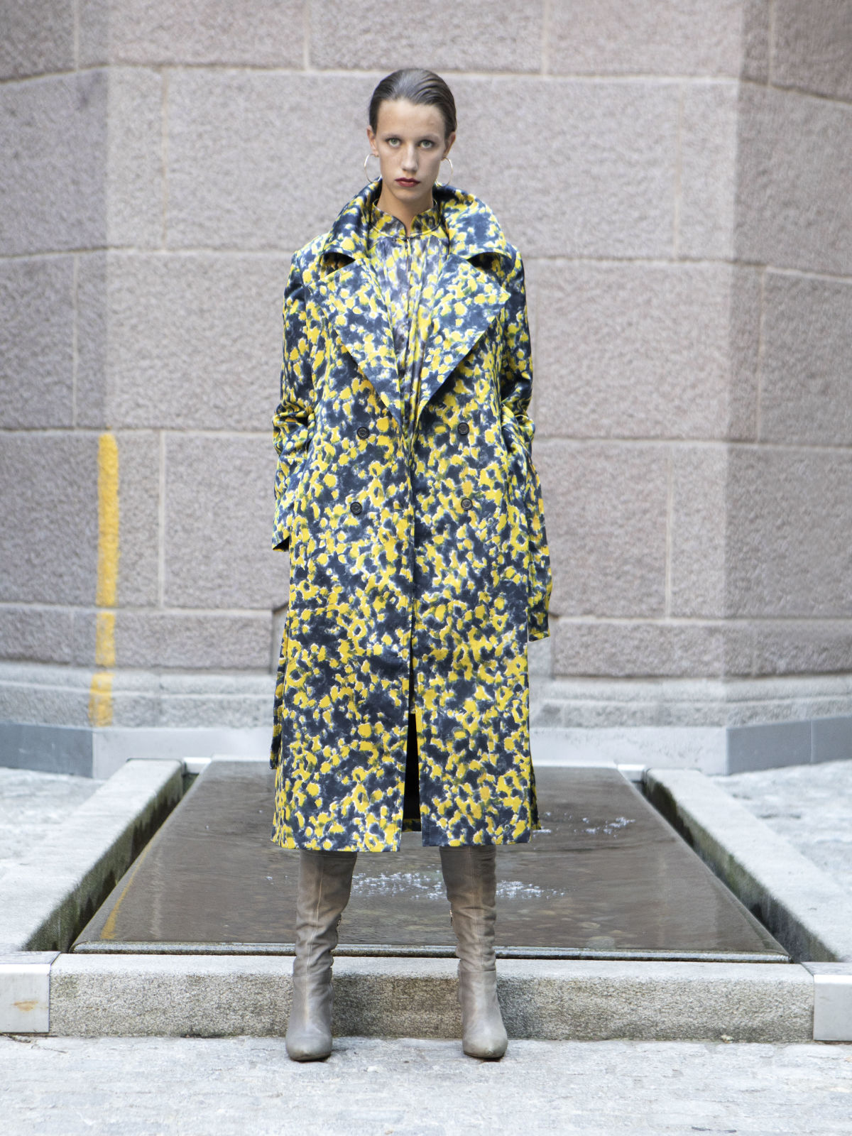 Buttercup Trench Coat